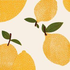 by Barbara Dziadosz Illustration Inspiration, Fruit Illustration, Food Illustrations, Graphic Illustration, Posca Art, Guache, Photo Wall Collage, Pattern Drawing, Cute Wallpapers