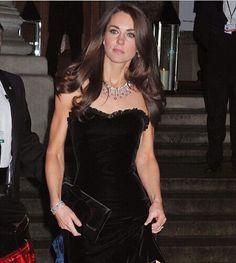 black dress, matching jewelry silver