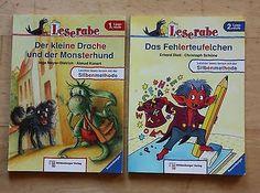 Leserabe Der kleine Drache u Monsterhund + Das Fehlerteufelchen 1.+ 2. Lesestufe