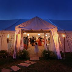 Tent in our backyard.... #CupcakeDreamWedding Albano Martins Photography - Tent Wedding