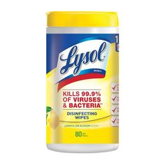 LYSOL Lemon/Lime Disinfectant All-Purpose Clean at Lowe's. Tackle quick cleaning touch-ups and help stop the spread of germs with Lysol disinfecting wipes. Strong enough for even the toughest messes, Lysol Lysol Disinfecting Wipes, Disinfectant Spray, Deep Cleaning, Cleaning Hacks, Cleaning Supplies, Cleaning Products, Car Cleaning, Pocket Pattern, Wet Wipe