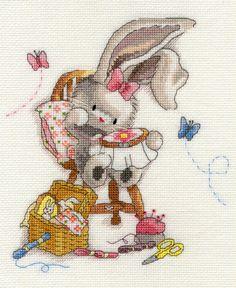 Baby Ark Sampler XNB5 Bothy Threads Cross Stitch Kit