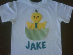 Custom boutique Easter applique personalized by EverythingSorella, $25.00