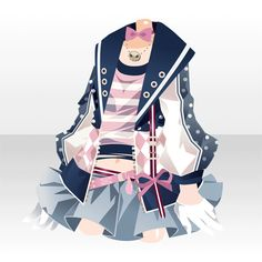 DreiEck TriStar|@games -アットゲームズ- Punk Outfits, Anime Outfits, Cool Outfits, Valentines Day Teddy Bear, Chibi, Japanese Uniform, Cocoppa Play, Kawaii Clothes, Doll Repaint