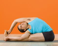 Parivrtta Paschimottanasana (Revolved Seated Forward Bend)