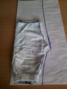 Střih na dětské kalhoty ::