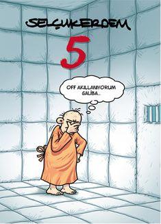 Off akıllanıyorum galiba...  #karikatür #mizah #matrak #komik #espri #şaka #gırgır #komiksözler