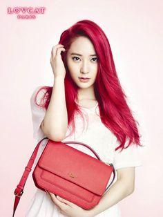 f(x)'s Krystal for Lovcat ad campaign