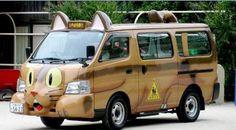 #voiture #humour #chat #minibus