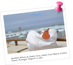 Our BabyMoon KeepsakeTAG @Santa Cruz Beach, Lisbon Coast, Portugal. August 2014.