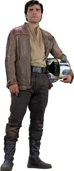 Poe Dameron from Star Wars Episode VII The Force Awakens.