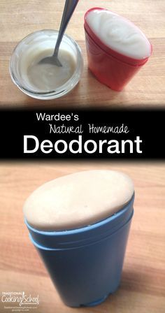 Wardee's Natural Homemade Deodorant | DIY deodorant recipes... it often takes several attempts to come up with a winner. After 3 tries, I finally came up with a natural deodorant recipe that really works! I've been using this recipe for 3 years! | http://TraditionalCookingSchool.com