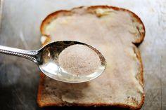 mmmm..perfect cinnamon toast