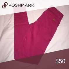 Joe's jeans hot pink skinny jeans Prices are firm, nonnegotiable for closet clear out sale. Joe's Jeans Jeans Skinny