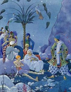 The Arabian Nights by Virginia Frances Sterrett. Ali Baba and the Forty Thieves.
