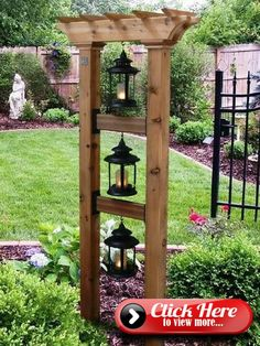 Untitled Garden Yard Ideas, Diy Garden, Garden Projects, Garden Beds, Garden Art, Easy Projects, Wooden Garden, Project Ideas, Craft Ideas