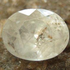 Safir Putih Oval 1.70 carat