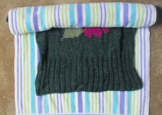 How to block your knitting, finishing new knitting or reshaping older knit items
