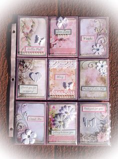 Pocket Letter For Tmika Atc Cards, Card Tags, Journal Cards, Pocket Pal, Pocket Cards, Scrapbook Supplies, Scrapbook Paper, Project Life Scrapbook, Pocket Scrapbooking