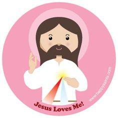 Jesus Loves Me! happysaints.com
