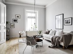 Open plan apartment - via Coco Lapine Design. Are you looking for unique and beautiful art photo prints to curate your art wall? Visit bx3foto.etsy.com and follow us on Instagram @bx3foto