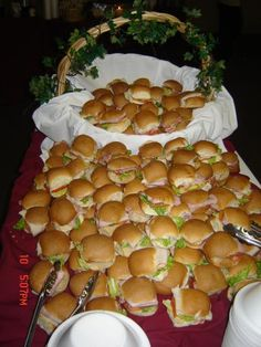Angel's Catering - Sandwich Display