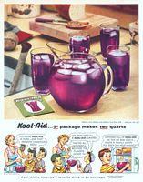 Kool-Aid Grape Flavor 1954 Ad Picture