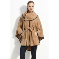 i kind of love this RZ cape jacket
