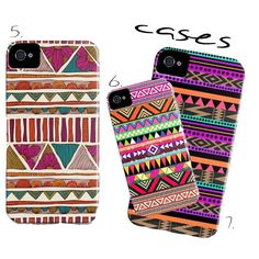 Tribal Print iphone cases at Society6! Want me one