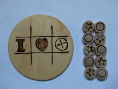 Geocaching Swag  TicTacToe Board by CoolGeocachingSwag on Etsy, $4.00