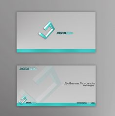 Fascinating 3D Business card design examples