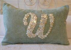Monogram buttons