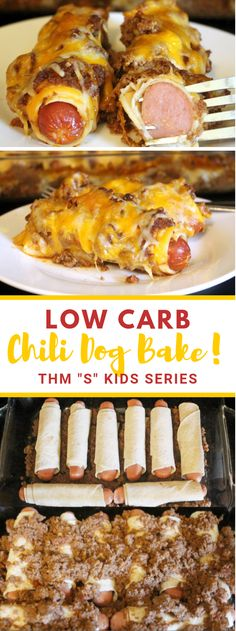 This low carb Chili Dog Bake will be a family most loved around your table. Delicious all hamburger wieners enclosed by low carb tortilla. Low Carb Dinner Recipes, Healthy Recipes, Keto Dinner, Keto Recipes, Healthy Food, Dessert Recipes, Lunch Recipes, Healthy Low Carb Meals, Healthy Low Carb Breakfast