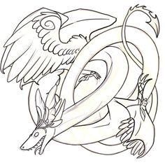 Lined this confusing noodle #art #doodle #drawing #digitalart #FlightRising #sketch #artistofinstagram #dragonsofinstagram