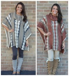 New-Tral Poncho, 2 Colors