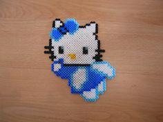 blå hello kitty