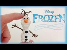 ▶ Disney Frozen Olaf Polymer Clay Tutorial - YouTube