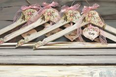 Wedding Hangers Bridesmaid Hangers Brides by InspirellaDesign