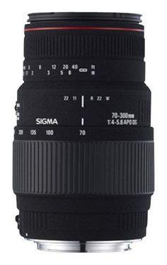 Sigma - 70-300mm f/4-5.6 APO DG Macro Digital Telephoto Zoom Lens for Select Sony Cameras - Black