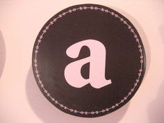 "Finished letter ""a"""