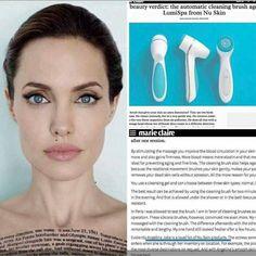"""Siapa yg tak kenal artis ini """"yes""""  Angelina Jollie, loyal fan of Nu Skin product Salah satu alat gadget kecantikan kesayangannya adalah  lumispa💕  Hayooo siapa yg udh punya alat ini juga Cuuungg🙋 bisikin dong  testimoni nya  Owh ya...di Nu Skin artis itu bukan di endorse utk ngiklan ya Tapi artis memang memakai produk Nu Skin karena memang mereka butuh  untuk kebutuhannya . . Kamu juga  BisaBanget . . Info, konsultasi dan order 📲082121817127 . .  eliteteam1   ageLOCtechnology… Nu Skin Ageloc, Whitening Fluoride Toothpaste, Galvanic Spa, Best Facial Cleanser, Skin Brushing, Body Spa, Brush Cleaner, Body Butter, Anti Aging Skin Care"""
