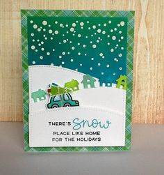christmas car card - the Lawn Fawn blog: Fawny Flickr Friday {11.4.16}