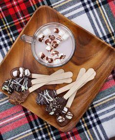 choco hot choco spoons!!