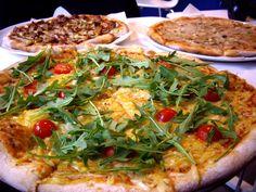 Vegan 4-cheese-pizza in Malmö Sweden #vegan #vegetarian #glutenfree #food #GoVegan #organic #healthy #RAW #recipe #health #whatveganseat