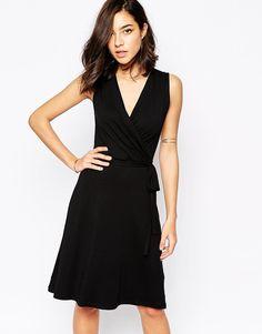 Image 1 ofWarehouse Wrap Dress