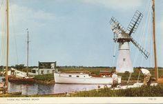 PC77860 Thurne Mill. Norfolk Broads. Jarrold. RP | eBay