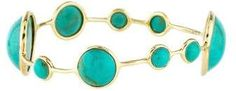 Ippolita 18K Turquoise Lollipop Bangle