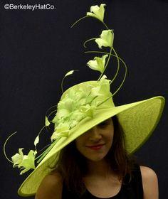 Pistachio Breeder's Cup Derby Hat