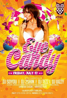 Eye Candy party @Owl Lounge in Itaewon - 17 July 2015.
