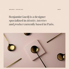 Fonts Used: Saol Display and Agipo · Typewolf Typography Inspiration Font Design, Identity Design, Page Design, Typography Design, Layout Design, Graphic Design, Brand Design, Web Design Trends, Web Design Quotes